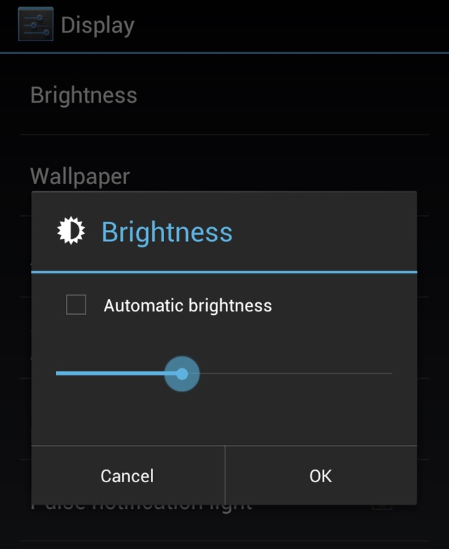 Step by step instructions to Mood killer Auto-Brightness on Android